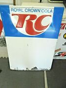 Rc Cola Embossed Sign 39 X 27.5 Info Sign Royal Crown Cola