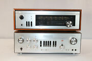 Luxman L-100 Integrated Amplifier And Luxman T-310 Am/fm Stereo Tuner - Beautiful
