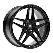 Jantes Roues Sparco Record Audi A3 Staggered 8x19 5x112 Et 49 Gloss Black 832