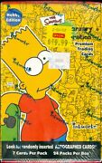 2000 The Simpsons 10th Anniversary Trading Cards Sealed Hobby Box By Inkworks