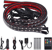 4x8 Colors Led Neon Undercar Glow Light 8 Colors 12v Rgb Car Chassis Light