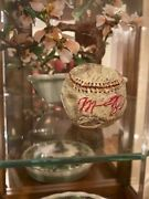Authentic 1994 Michael Jordan Signed Autographed clay baseball by Mike