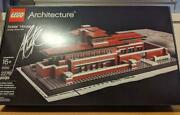 Lego Architecture Lobby House With Sign By Adam Reed Tucker Unused Rare