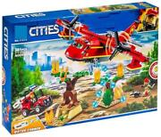 Conctructor11214 Over 6year Fire Plane New Game Lego Citement Rescue 381parts