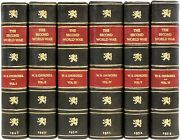 Winston Churchill. 6 Vols The Second World War. All First Editions Leather Bound