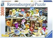 Ravensburger Gelini German Tourists 3000 Piece Puzzle - New - Rare - Ships Fast