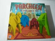 Parcheesi The Classic Game Of India Board Game 2001 Milton Bradley Sealed
