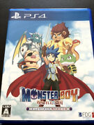 Monster Boy Cursed Kingdom Sony Playstation 4 Ps4 Games From Japan New