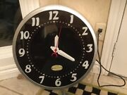 Kranker Clocks Style 3 Usa Made Neon Wall Clock Hand Built 22 Inch Numbers