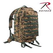 Rothco Molle Ii 3-day Assault Pack Woodland Digital 41129
