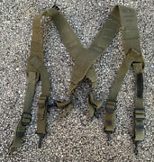 Original Wwii Ww2 Us Military Issue M1944 Field Pack Suspenders 1944 Dated
