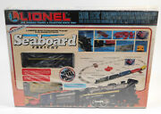 Used Lionel 6-11746 Seaboard Freight Set O27 Brand New, Sealed In Box