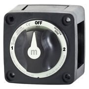 Blue Sea Boat M-series Selector 3 Position Battery Switch 32v Dc Marine - Black