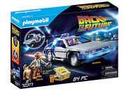 70317 Playmobil Back To The Future Delorean Car Set Inc 64 Pieces Age 6yrs+
