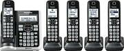 Panasonic Cordless Phone System With Answering System - Silver - Kx-tgf575s New