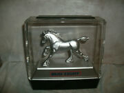 Advertisement Hard Plastic Case Clydesdale Horse Bud Light Beer