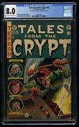 Tales From The Crypt 38 Cgc Vf 8.0 Double Cover