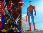 Hot Toys Qs015 1/4 Spider-man Homecoming Spider Man Deluxe Version Marvel