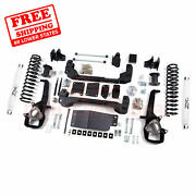 Zone 4 Front And Rear Suspension Lift Kit For Dodge Ram 1500 4wd 2012