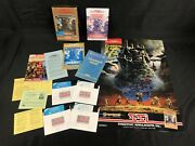 Champions Of Krynn, Clue Book, Poster - Advanced Dungeons And Dragons Ibm Ssi 5.25
