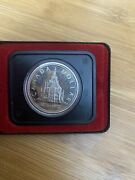 Canada 1876-1976 Silver Proof Dollar Library Of Parliament Coin.