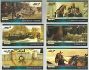 Star Wars Topps E1 Trading Cards 1999 Widevision 78 Inserts, 6 Promos, 1 Sheet