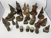 Lot Of 21 Tom Clark Gnomes- Mixed Years 1980's To 1990's / Retired. One Signed.