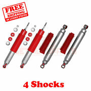 02-06 Chevy Avalanche 2500 4wd 5-6 Lift Rs9000xl Rancho Shocks