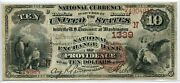 Fr. 482 1882 Bb 10 Ch 1366 National Bank Note Providence Rhode Island 15
