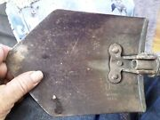 Us Wood 1945 Military Foldable Trench Shovel / Vintage Military Hand Tool