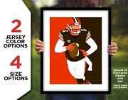 Baker Mayfield Photo Picture Cleveland Browns Player Art 8x10 11x14 11x17 16x20