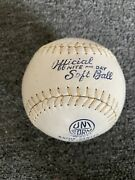 Spalding 1121 Official Softball Vintage Old Antique Made In Usa