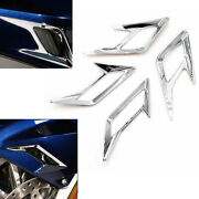 4pieces Motocycle Front Rear Vent Trim Easy To Install For Honda 2018-up Gold
