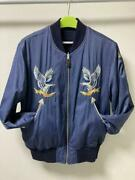 Rrl Flight Bomber Jacket Size L Mens Used Double Rl From Japan