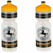 2 X Continental 750ml Road Mtb Cycling Bike Water Bottle Pair Of Bottles