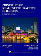 Principles Of Real Estate Practice In Illinois, Paperback By Mettling, Stephe...
