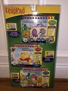 My First Leap Pad 3-in-1 Interactive Learning Books And Cartridges Pooh New/sealed