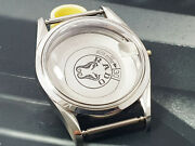 New Old Stock Case Vintage Rado World Travel Automatic Silver Color