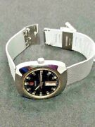 Rado Automatic Day / Date Menand039s Wristwatch In Working Condition