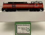 Brass H0 Overland Models Omi-6260 Nh New Haven Ef-4 Electric 300-301