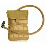 Blackhawk 65sh00ct Side Hydration Pouch Holds 40oz W/speed Clips - Coyote Tan
