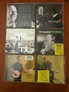 3 Cds Pete Seeger The Essential, Greatest Hits, American Favorite Ballads