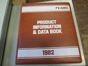 1982 Amc Product Information And Data Book Eagle Concord Spirit Mint