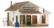 Woodland Scenics O Scale Built-up Building/structure Letters Parcels And Post