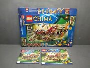 Lego Chima 70006 Box And Instructions Booklets Only