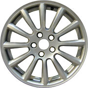 59767 Reconditioned 17x7 Alloy Andros Wheel Rim Silver Full Painted