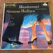 Mantovani And His Orchestra Strauss Waltzes London Stereophonic Vinyl Record Album