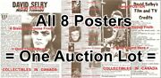 Dark Shadows David Selby Quentin Soap Opera Tv = All 8 Posters 4 Sizes 14 - 19