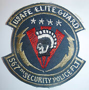 Patch - Elite Guard - 567th Sps - Us Air Force Europe - Usafe - Cold War - 5445