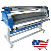 110v 60 / 64 / 65 Full-auto Hot Cold Laminator Wide Format Laminting Machine